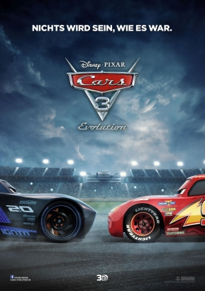 Filmplakat: Cars 3: Evolution