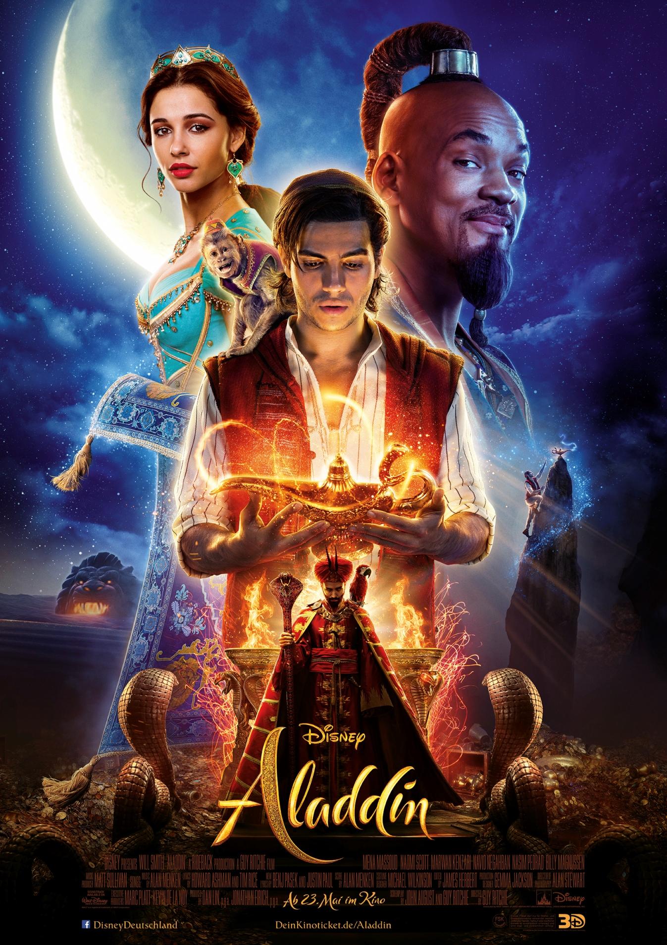 Schauspieler Aladdin