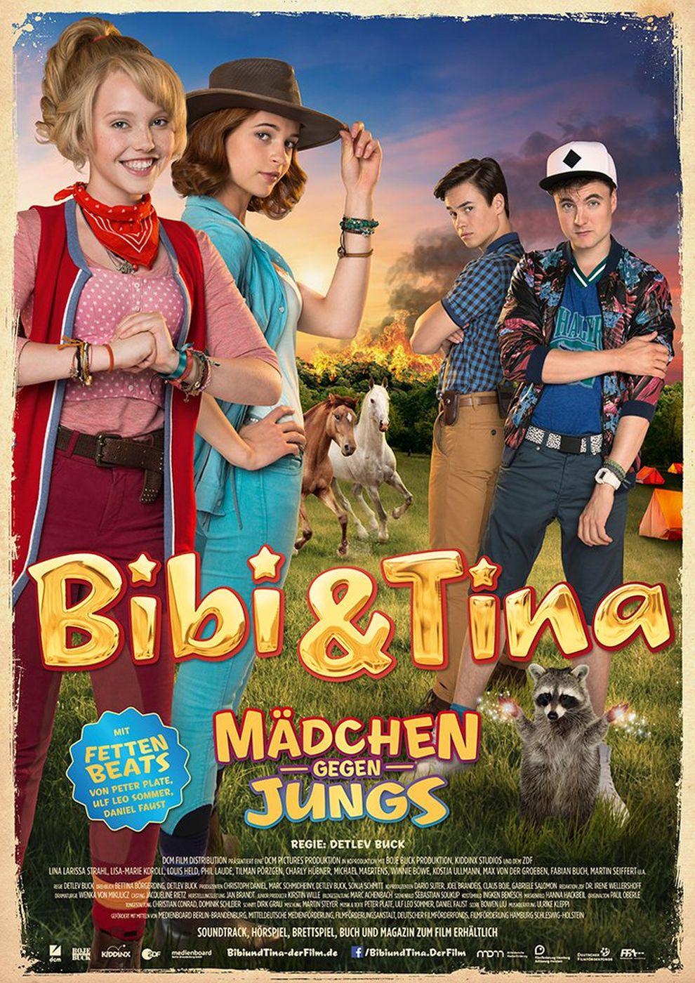 Bibi Und Tina Mädche Gegen Jungs Dvd