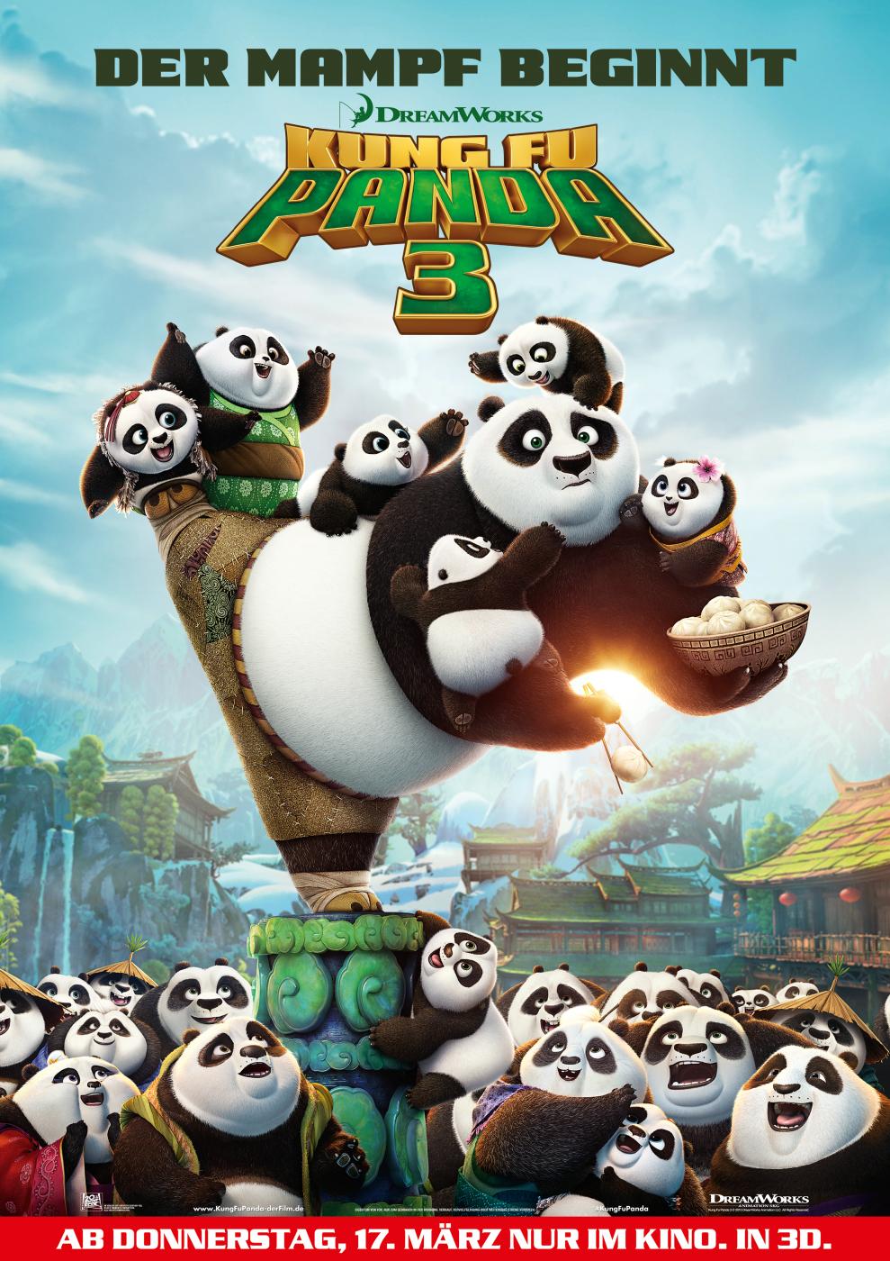 Kung Fu Panda 3 Deutsch Der Ganze Film