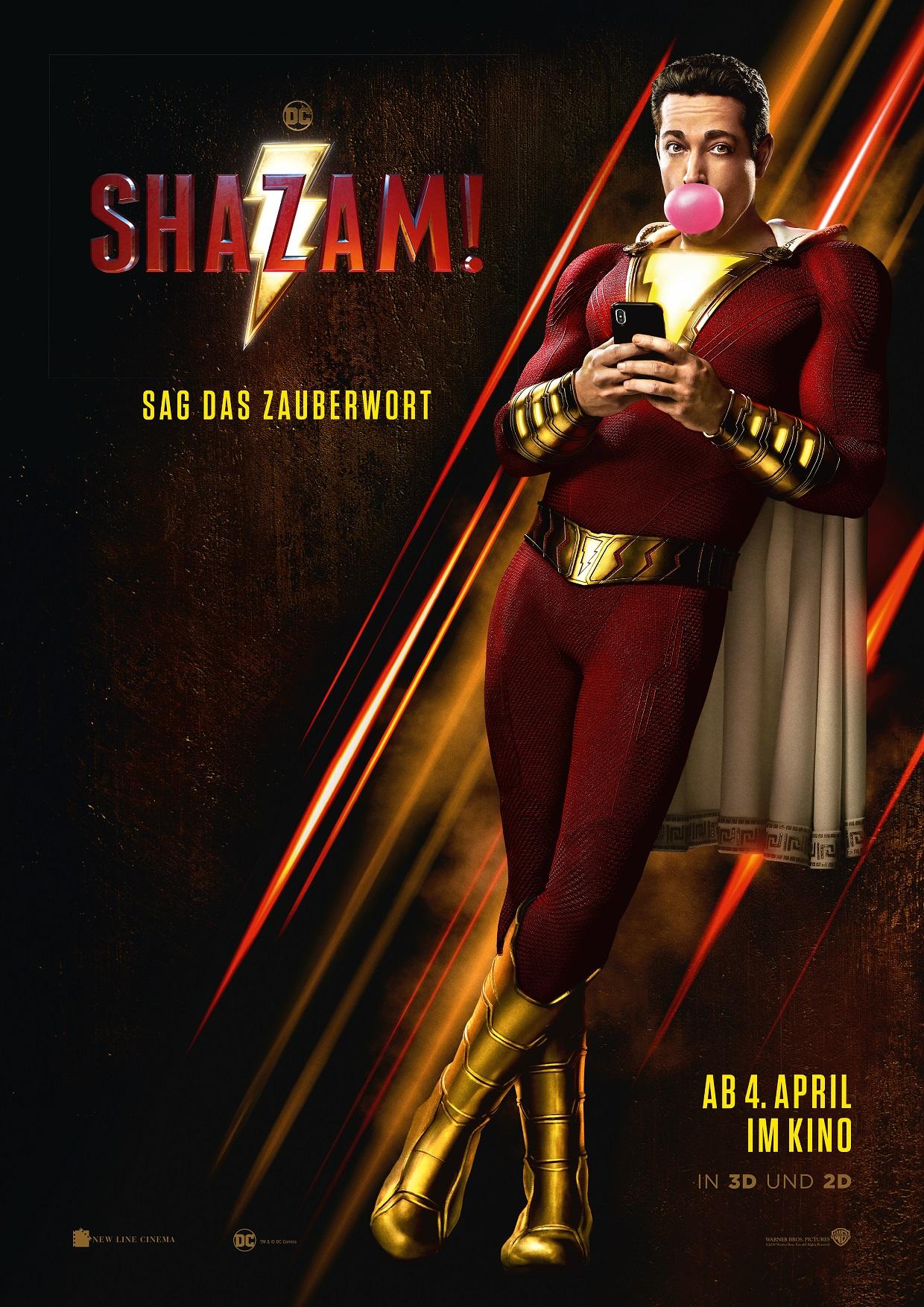 Shazam Kinostart